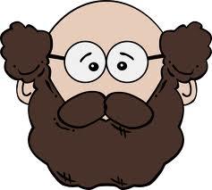 bald:beard