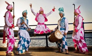 bhangra-dancers